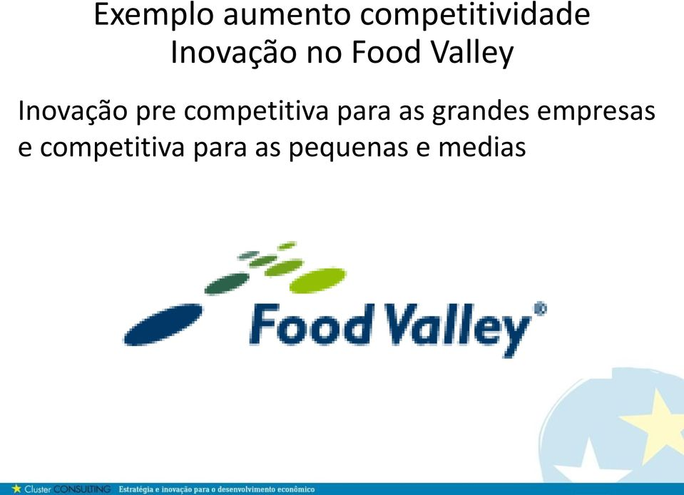 competitiva para as grandes empresas