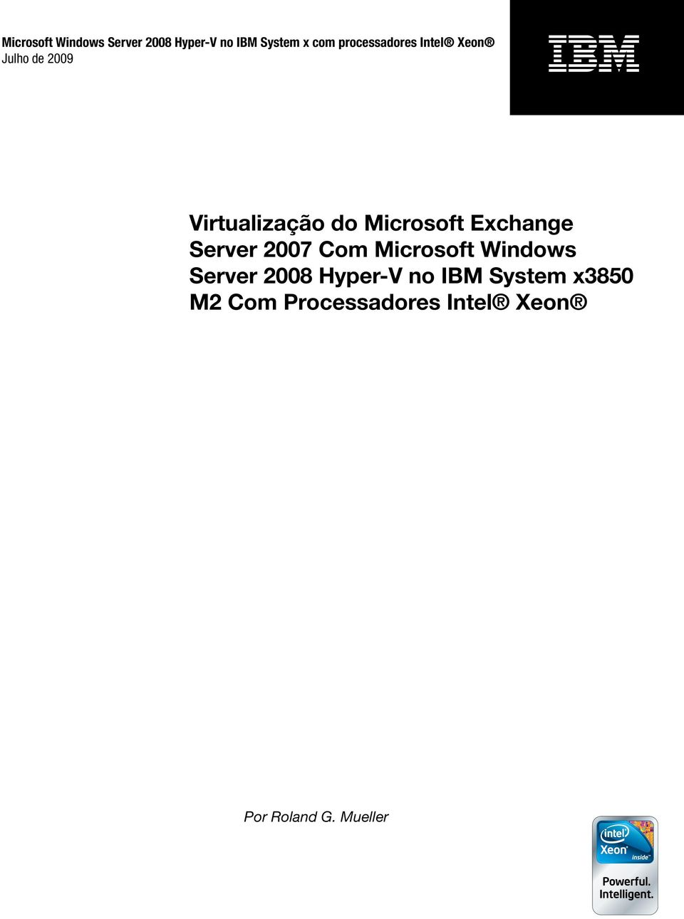 Microsoft Exchange Server 2007 Com Microsoft Windows Server 2008