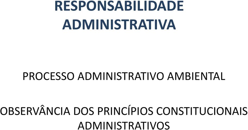 ADMINISTRATIVO AMBIENTAL