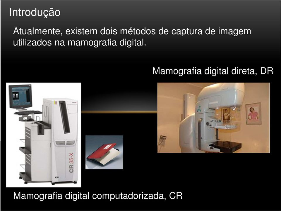 na mamografia digital.