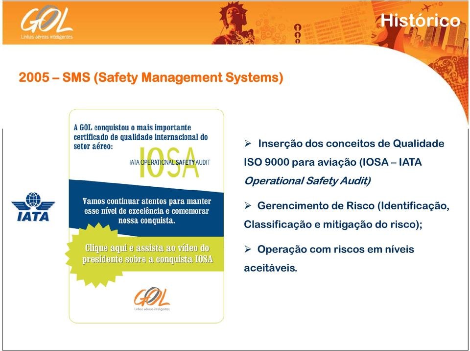Operational Safety Audit) Gerencimento de Risco (Identificação,