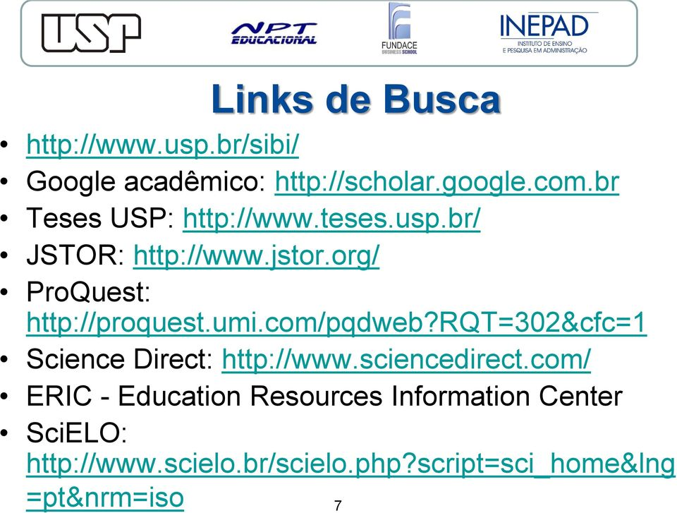 org/ ProQuest: http://proquest.umi.com/pqdweb?rqt=302&cfc=1 Science Direct: http://www.