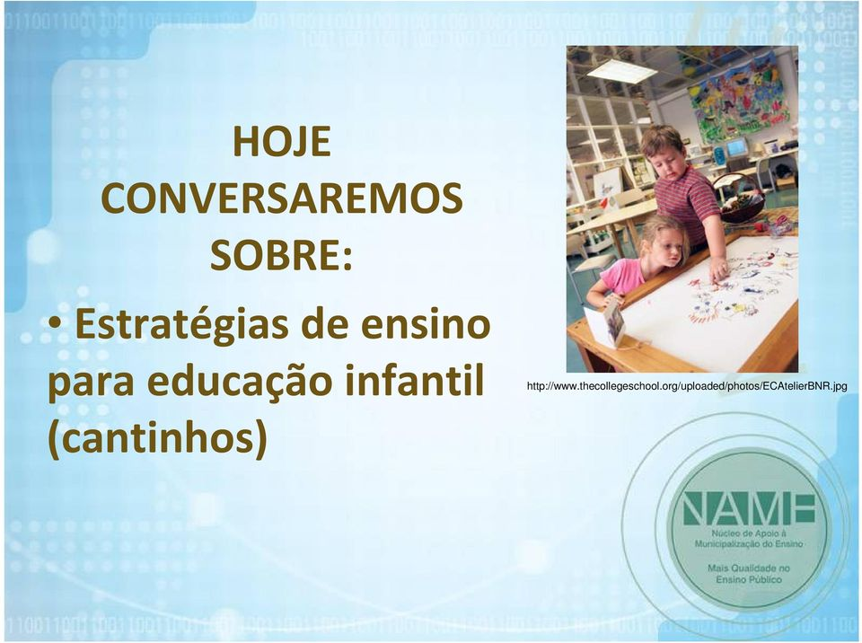 infantil http://www.thecollegeschool.
