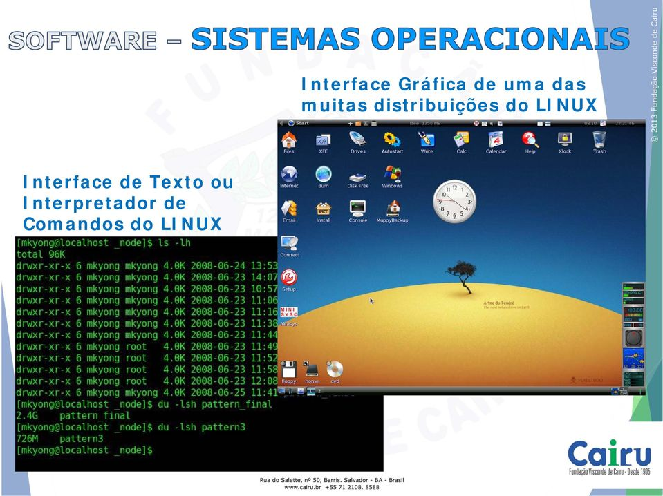 LINUX Interface Gráfica de