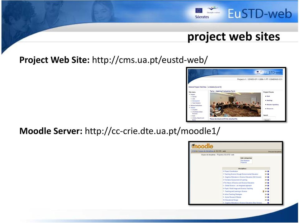 pt/eustd web/ project web