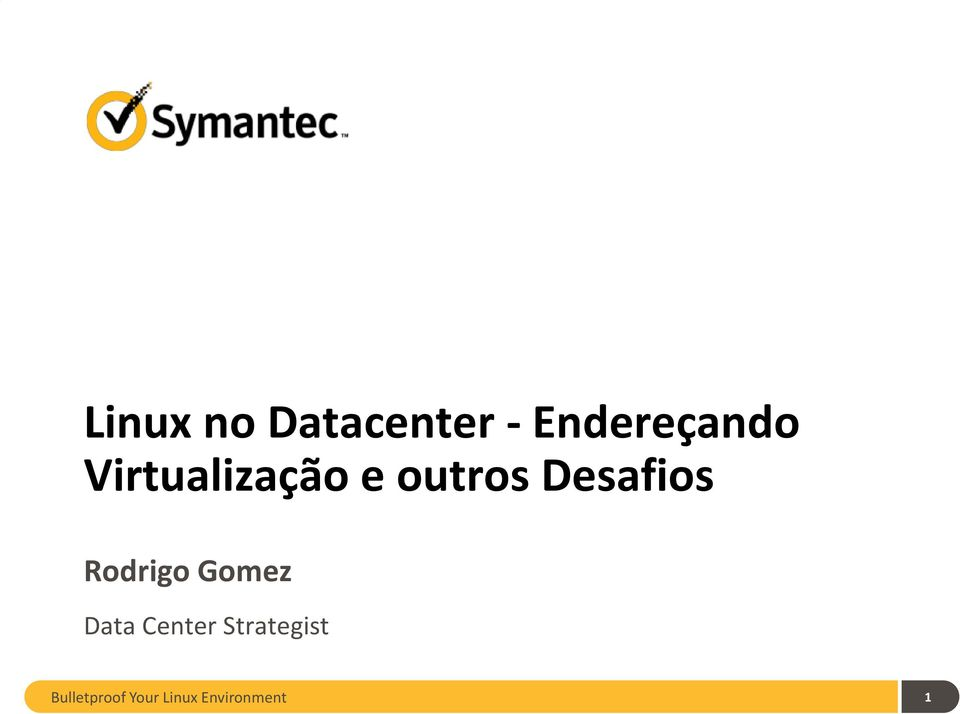 Rodrigo Gomez Data Center