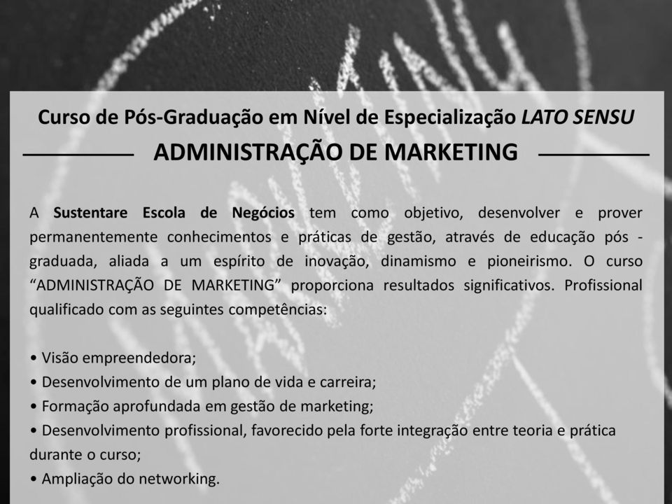 O curso ADMINISTRAC A O DE MARKETING proporciona resultados significativos.