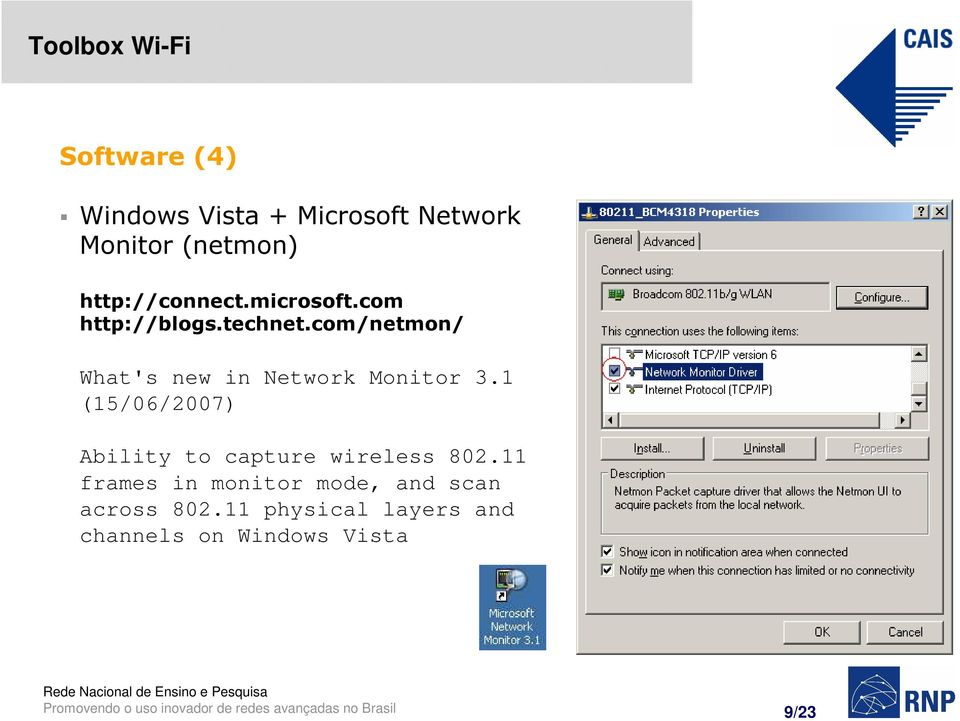 com/netmon/ What's new in Network Monitor 3.