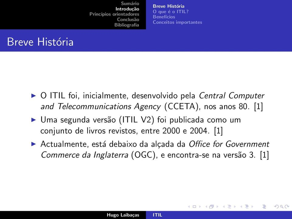 Computer and Telecommunications Agency (CCETA), nos anos 80.