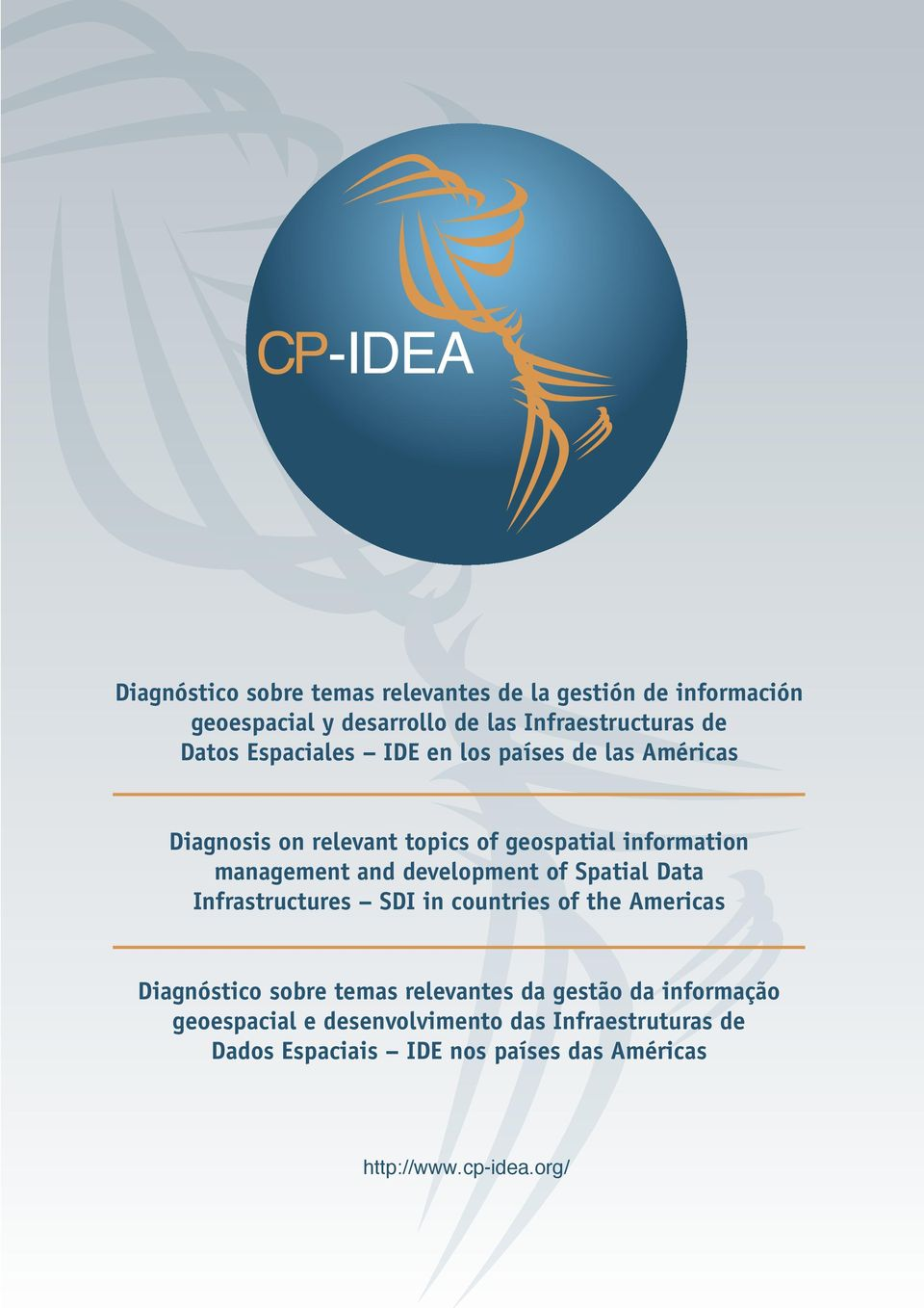 development of Spatial Data Infrastructures SDI in countries of the Americas Diagnóstico sobre temas relevantes da gestão