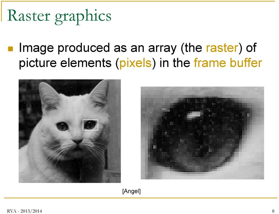 picture elements (pixels) in the