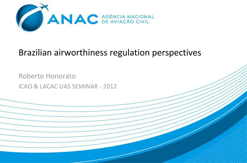 Roberto Honorato ICAO &