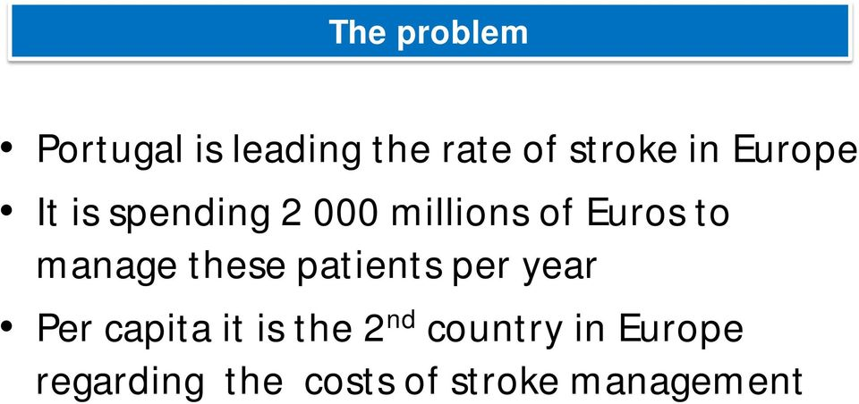 manage these patients per year Per capita it is the 2