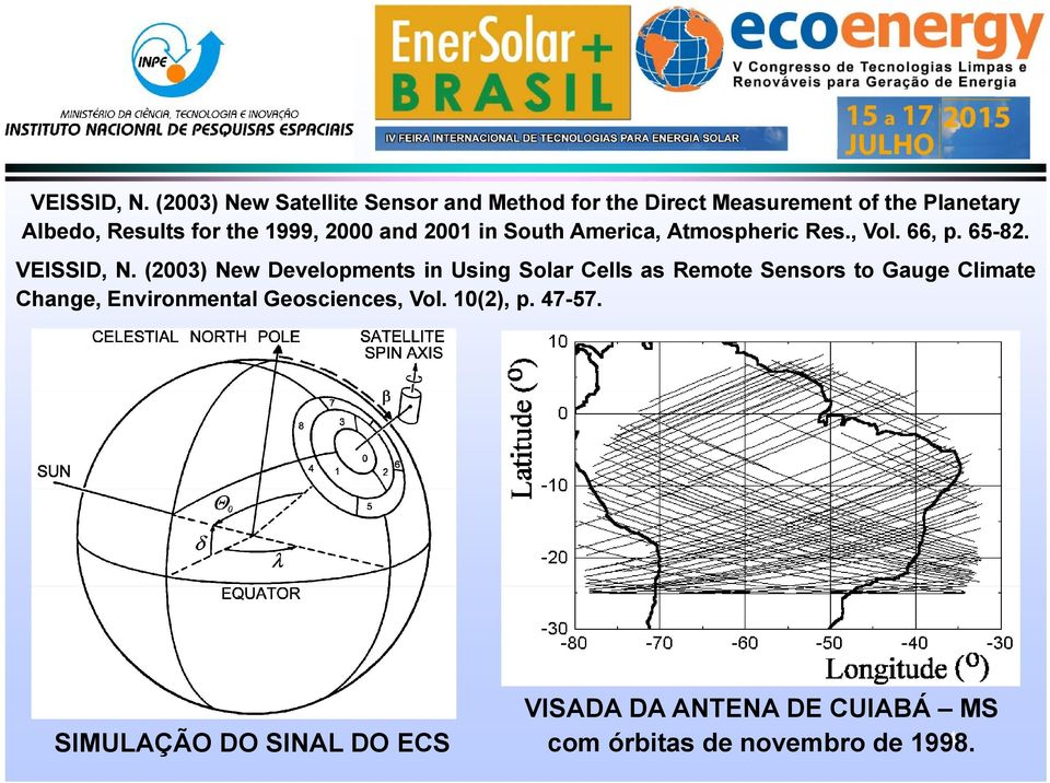 1999, 2000 and 2001 in South America, Atmospheric Res., Vol. 66, p. 65-82.