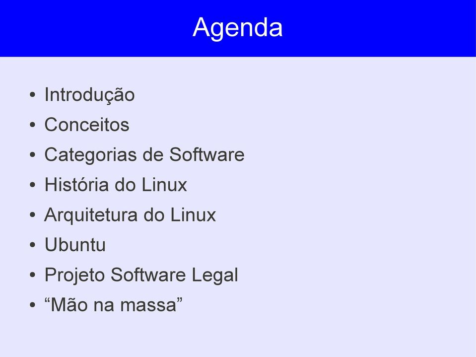 do Linux Arquitetura do Linux