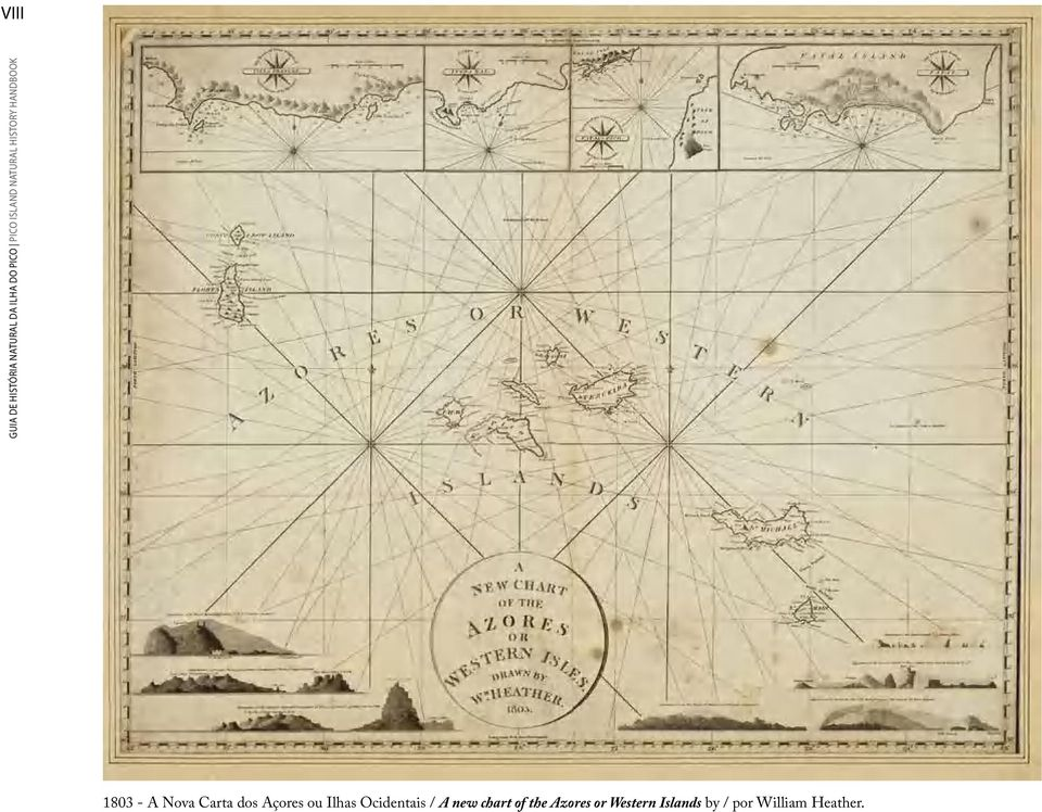 dos Açores ou Ilhas Ocidentais / A new chart of the