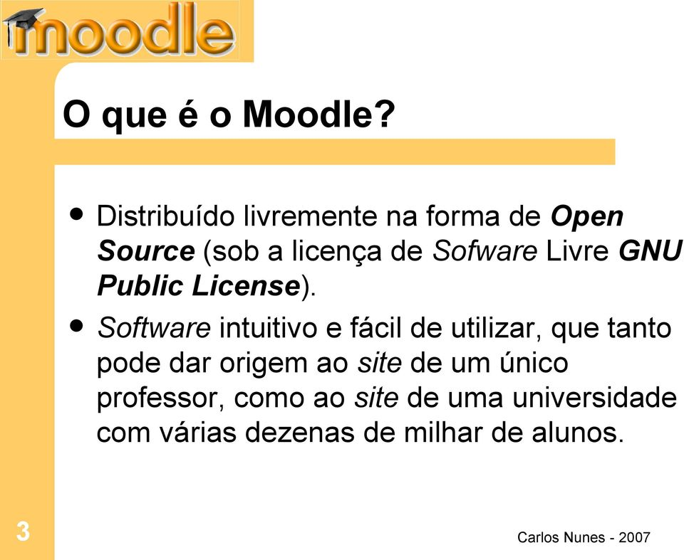 Livre GNU Public License).