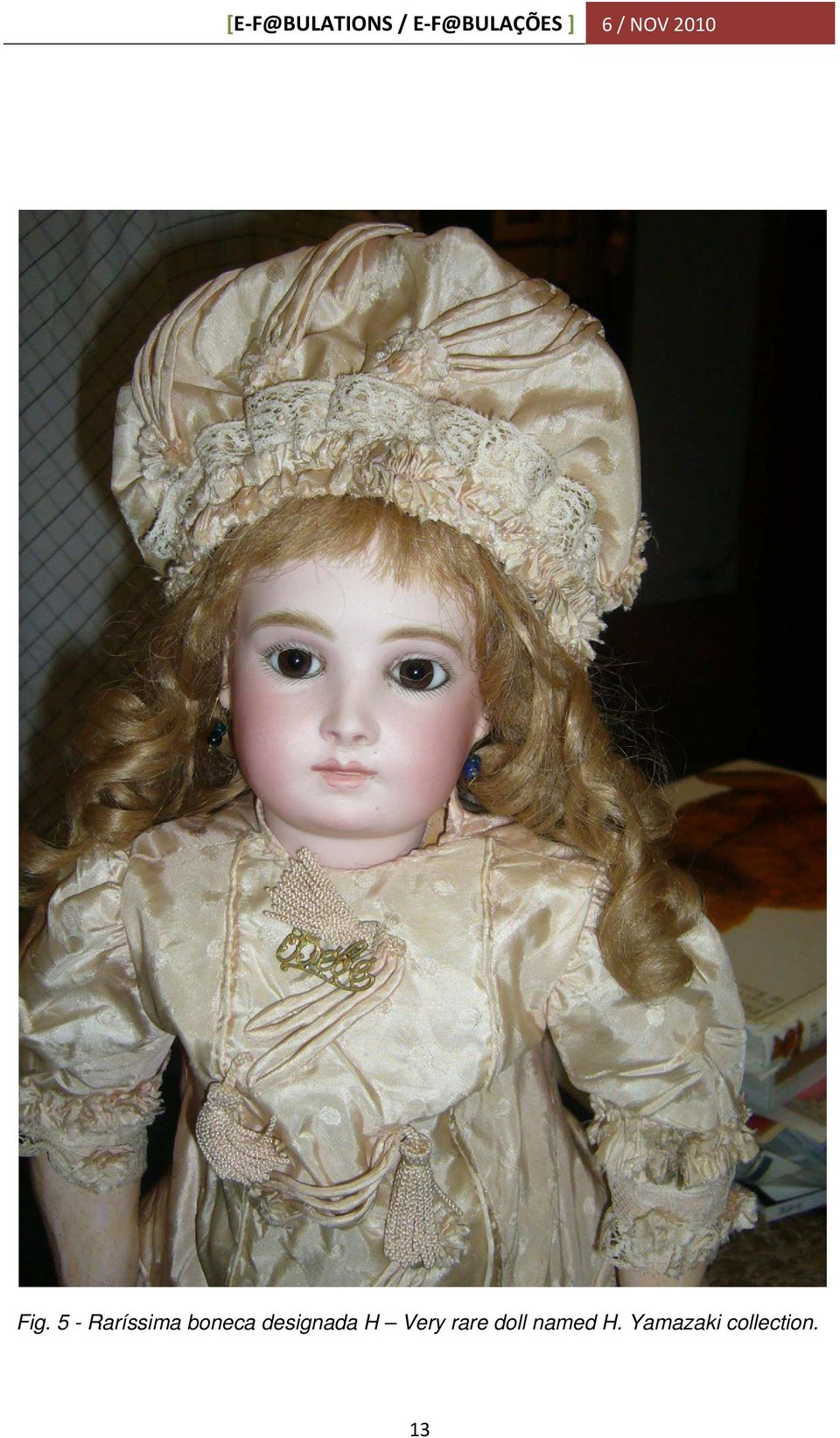 Very rare doll named