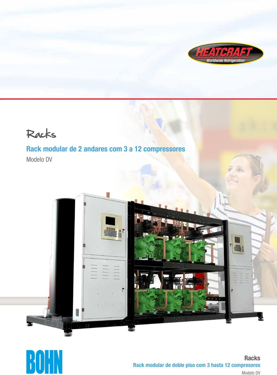 Racks Rack modular de doble piso