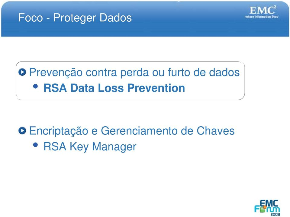 Data Loss Prevention Encriptação e