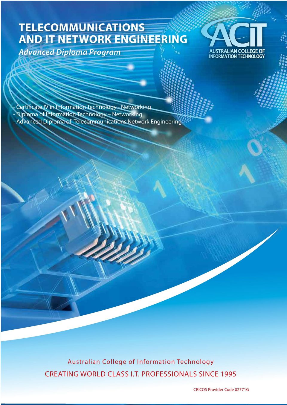 Advanced Diploma of Telecommunications Network Engineering Australian College of