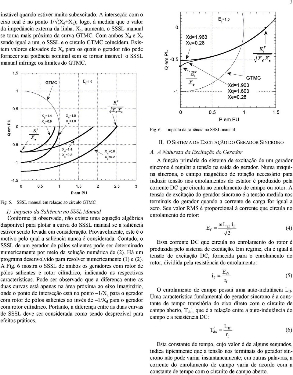 5.4.9.. Fig. 6..5.5 P m PU Impac a saliência n SSSL manual -.5 - -.5.4..5.5.5 3 P m PU.8. Fig. 5.