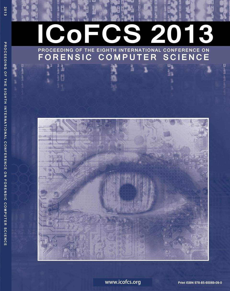 CONFERENCE ON FORENSIC COMPUTER SCIENCE Print ISBN