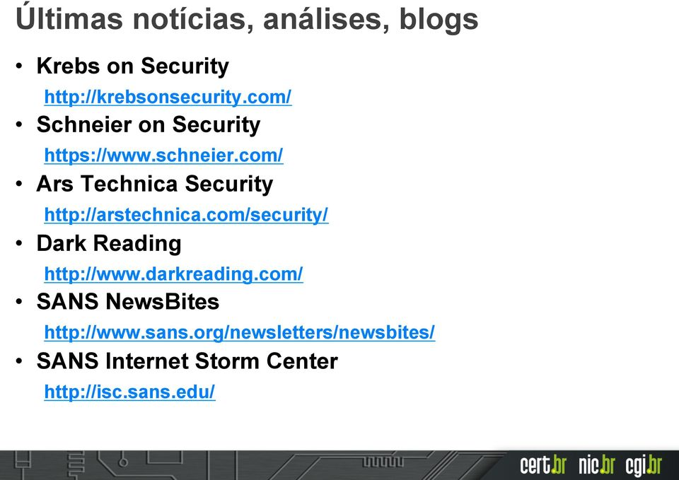 com/ Ars Technica Security http://arstechnica.