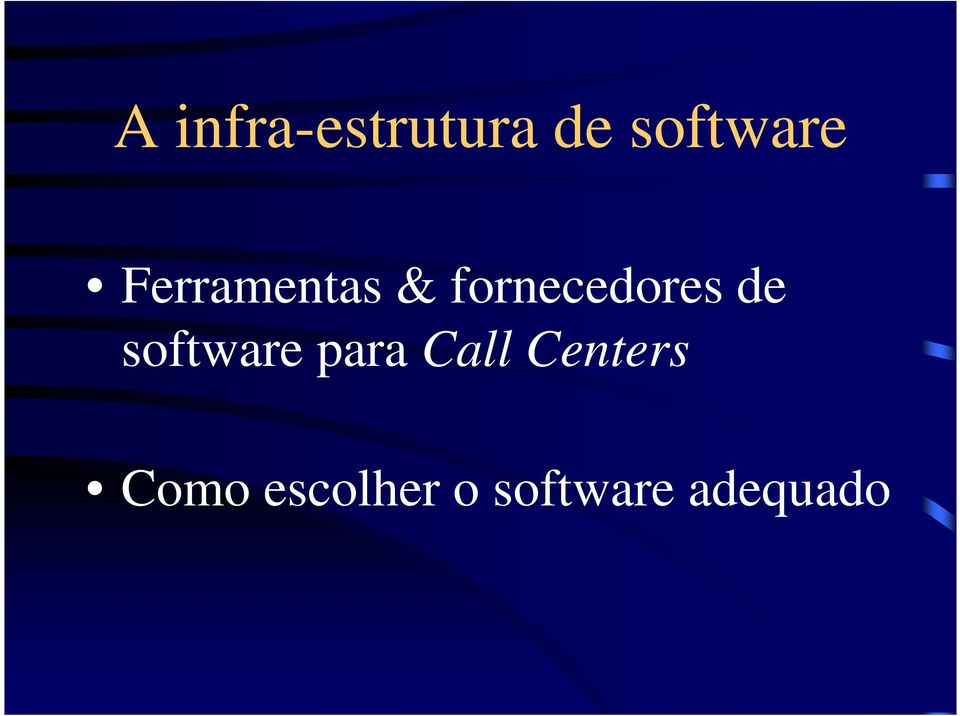 software para Call Centers