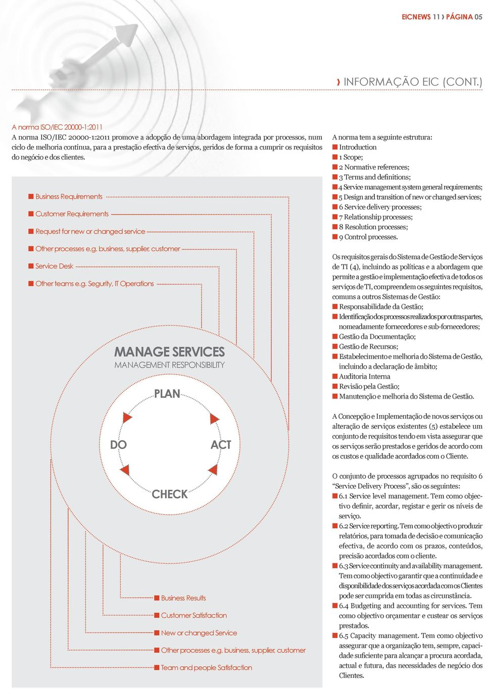 de forma a cumprir os requisitos do negócio e dos clientes. n Business Requirements n Customer Requirements n Request for new or changed service n Other processes e.g. business, supplier, customer n Service Desk n Other teams e.