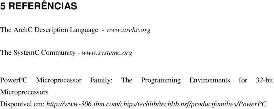 org PowerPC Microprocessor Family: The Programming Environments for