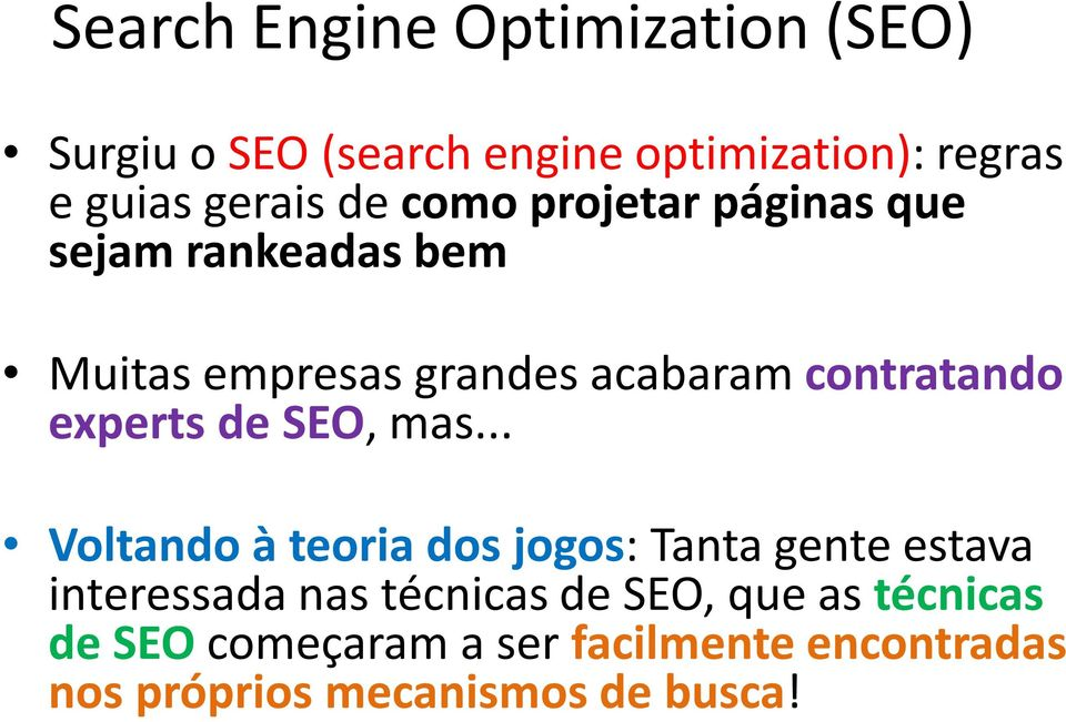 experts de SEO, mas.