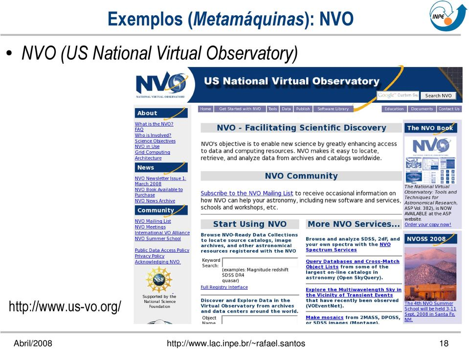 NVO (US National