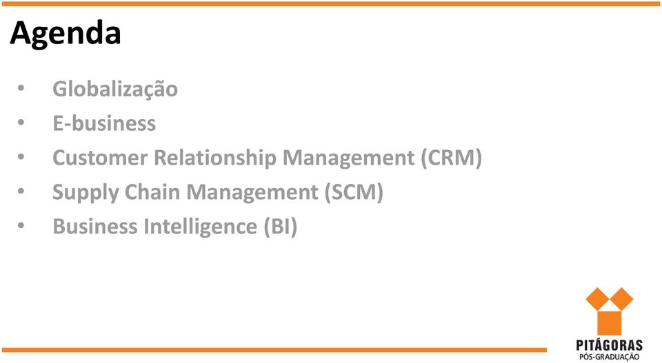 Management (CRM) Supply Chain