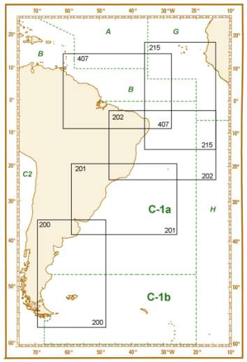 C1. 4 SMALL SCALE INT CHARTS