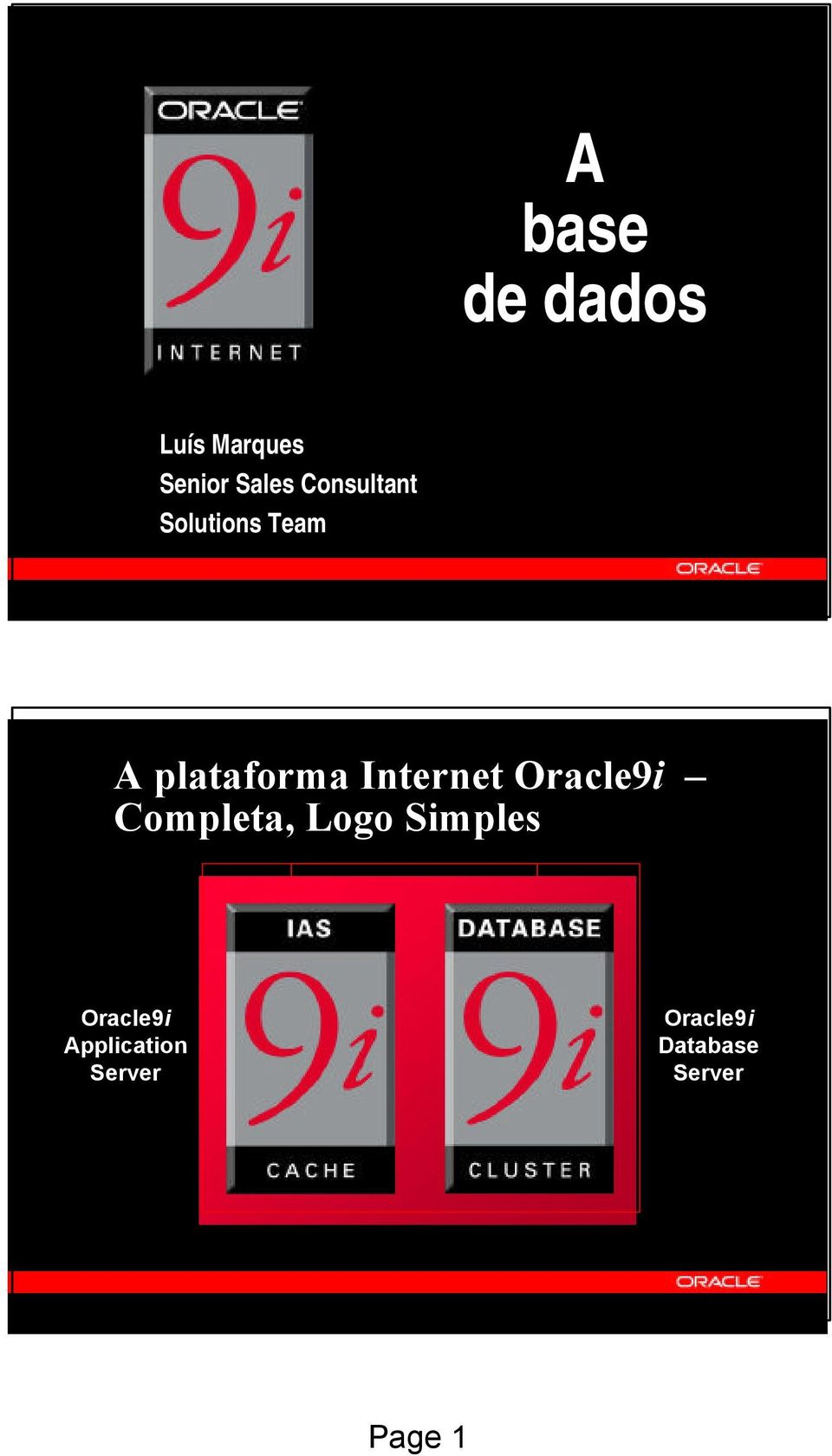 Internet Oracle9i Completa, Logo Simples