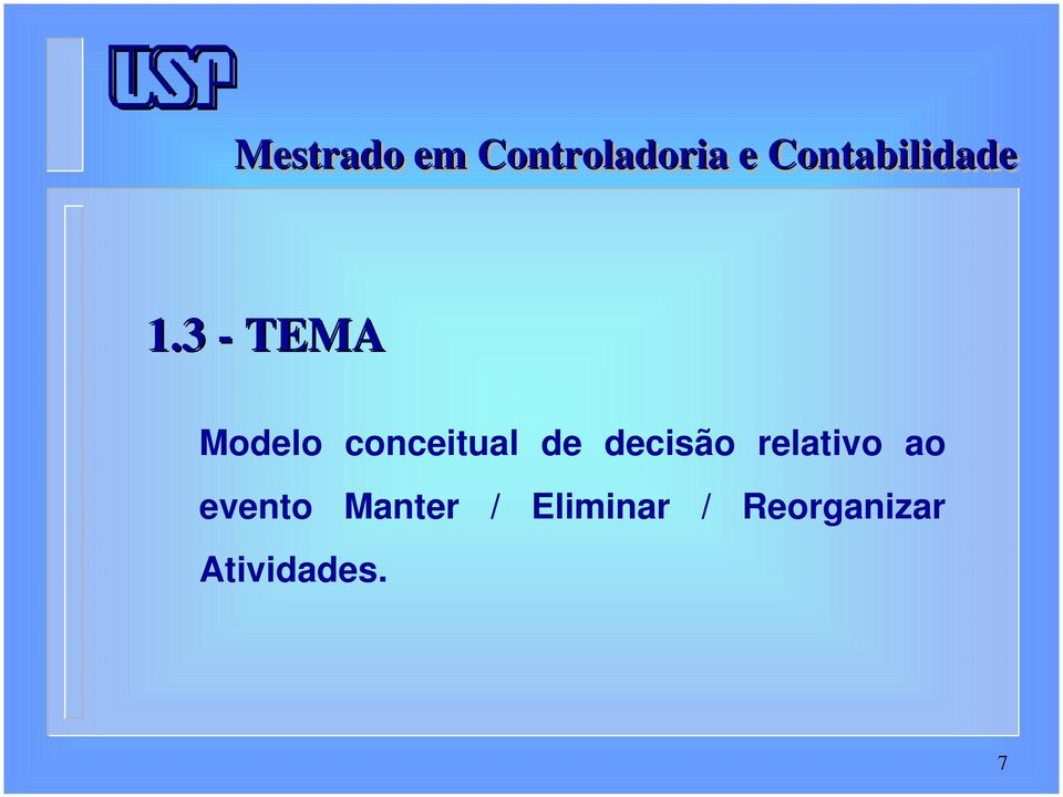 relativo ao evento Manter