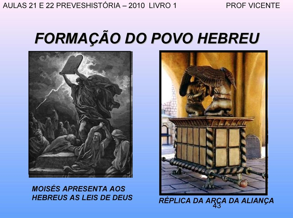 HEBREUS AS LEIS DE DEUS