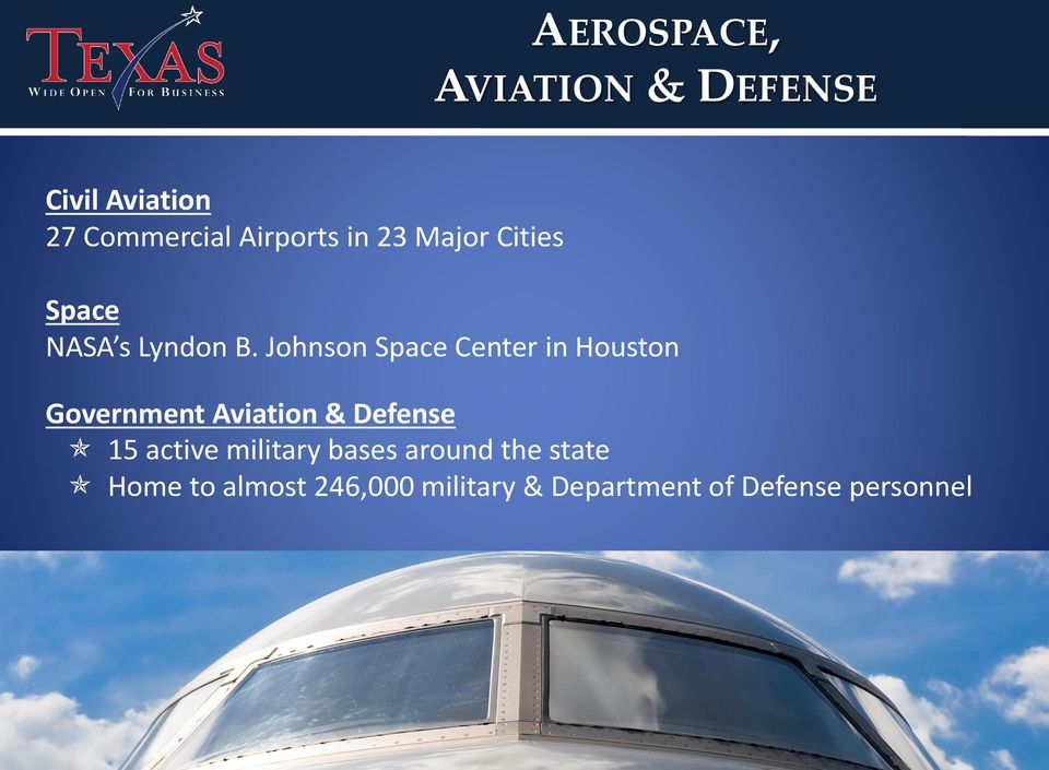 Johnson Space Center in Houston Government Aviation & Defense 15