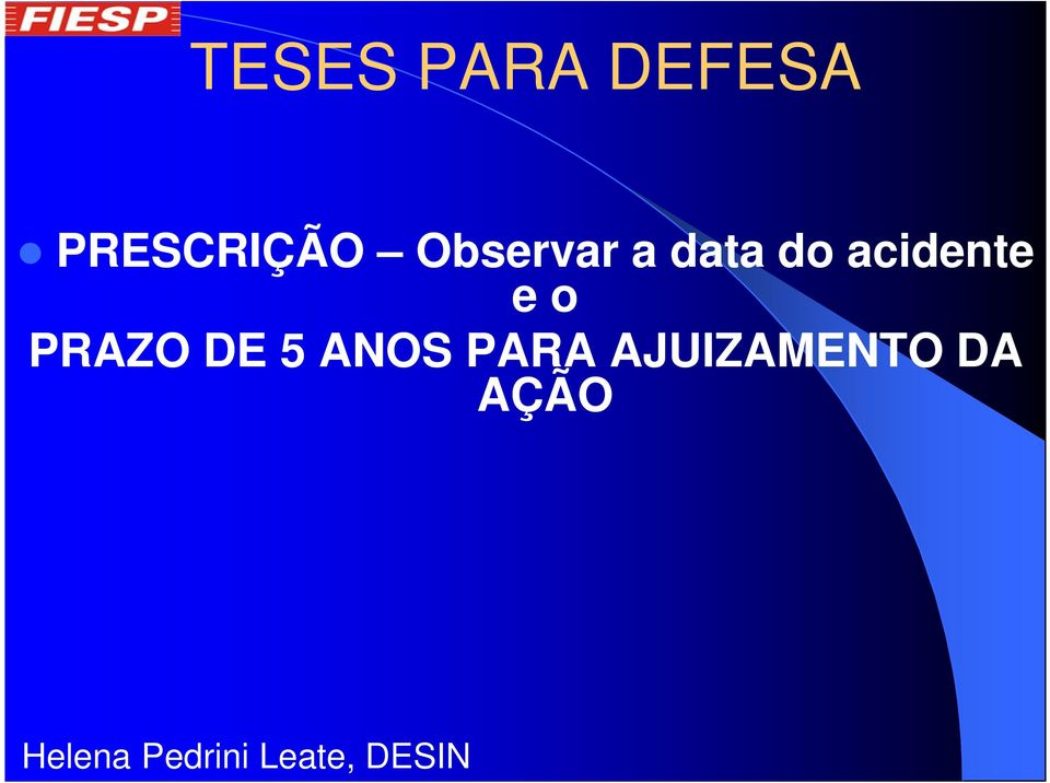 data do acidente e o