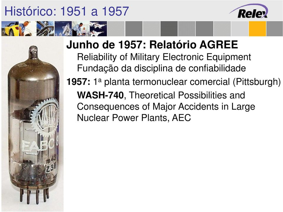 1957: 1 a planta termonuclear comercial (Pittsburgh) WASH-740, Theoretical