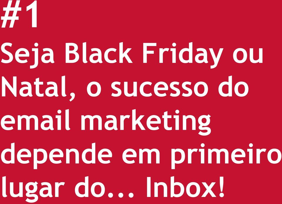 email marketing depende