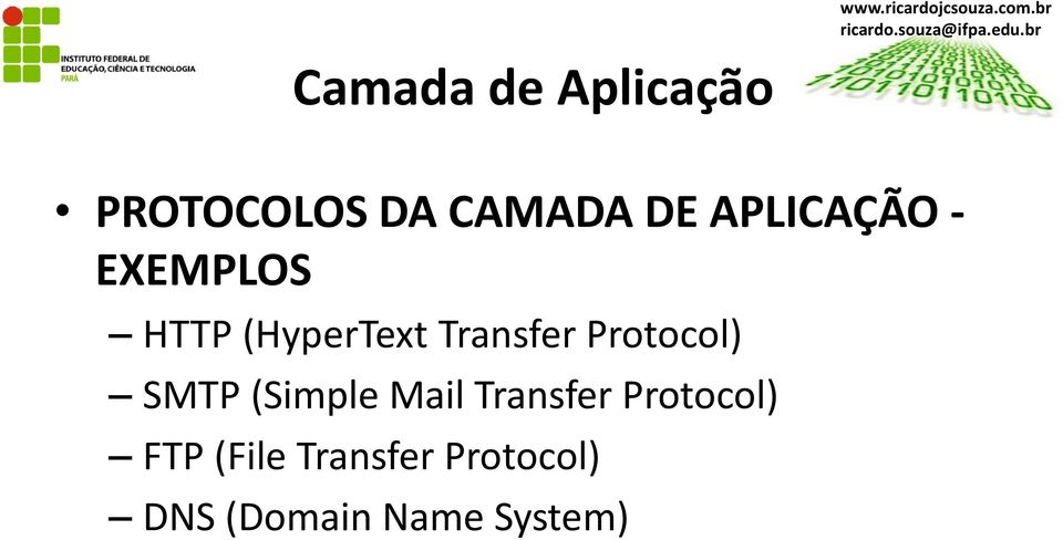Protocol) SMTP (Simple Mail Transfer