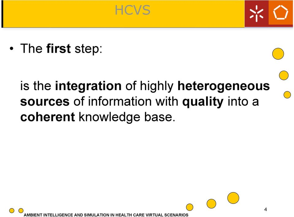 heterogeneous sources of» Quinto information