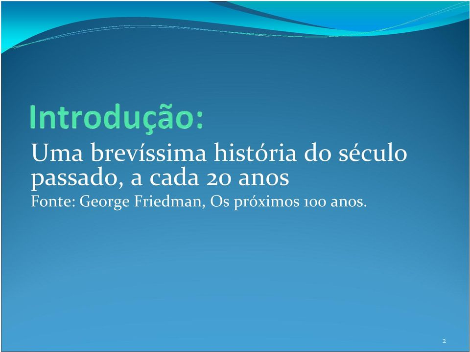anos Fonte: George