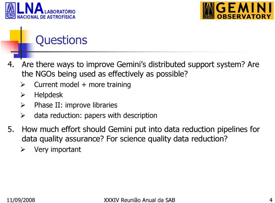 Current model + more training Helpdesk Phase II: improve libraries data reduction: papers with
