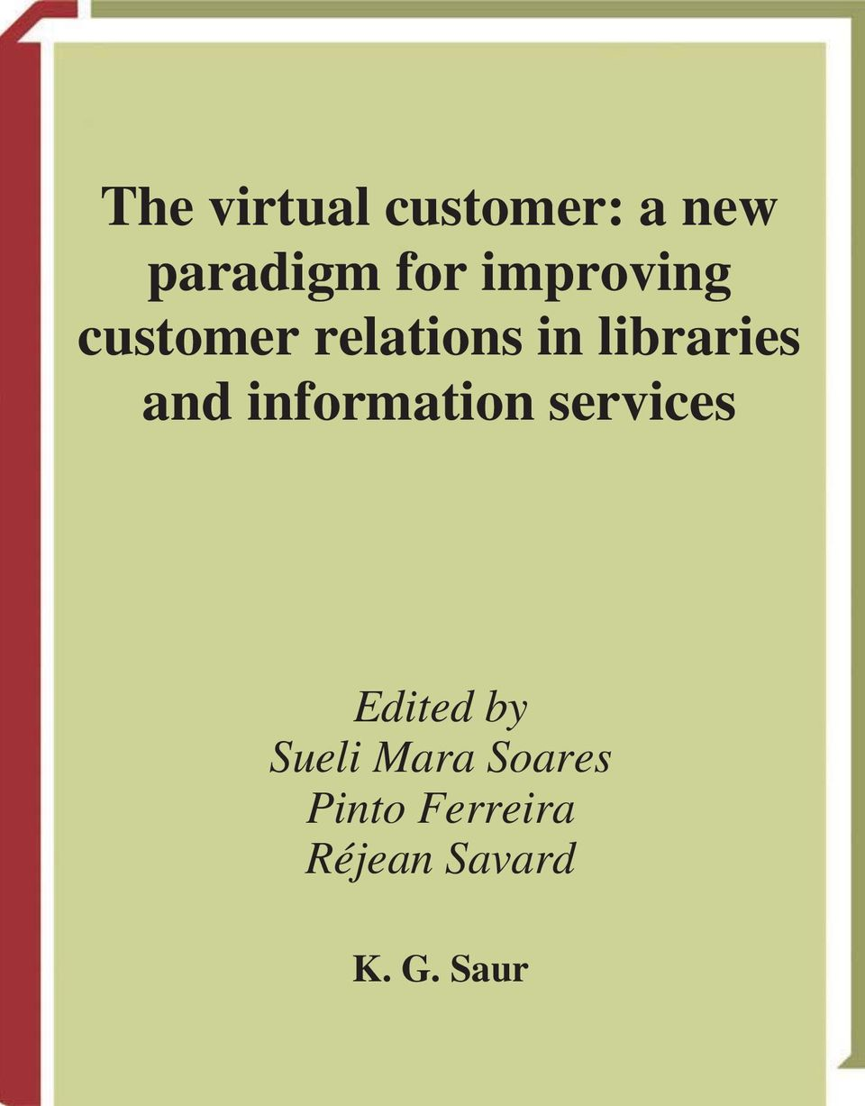 and information services Edited by Sueli