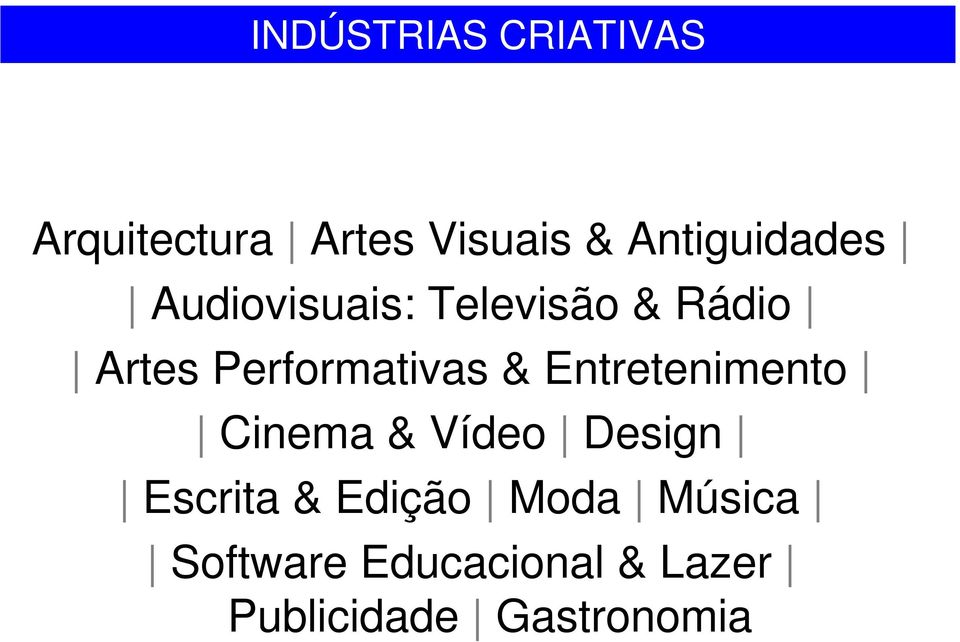 Performativas & Entretenimento Cinema & Vídeo Design