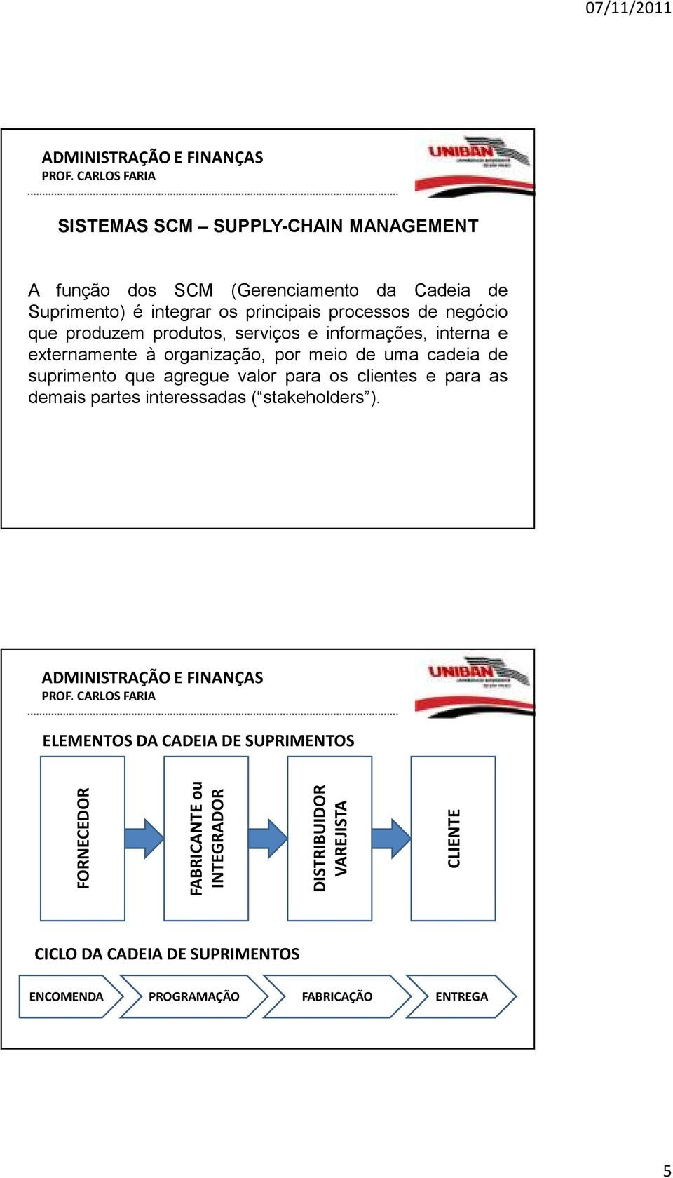 que agregue valor para os clientes e para as demais partes interessadas( stakeholders ).