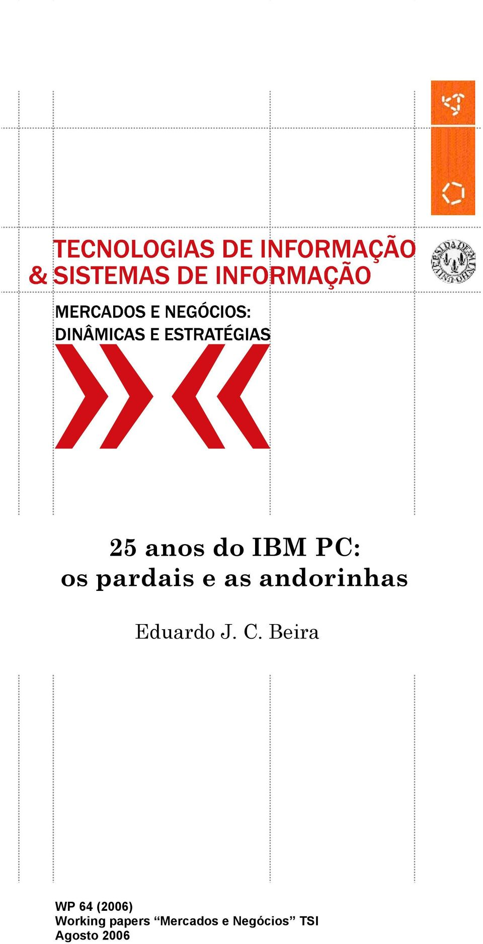 Beira WP 64 (2006) Working papers